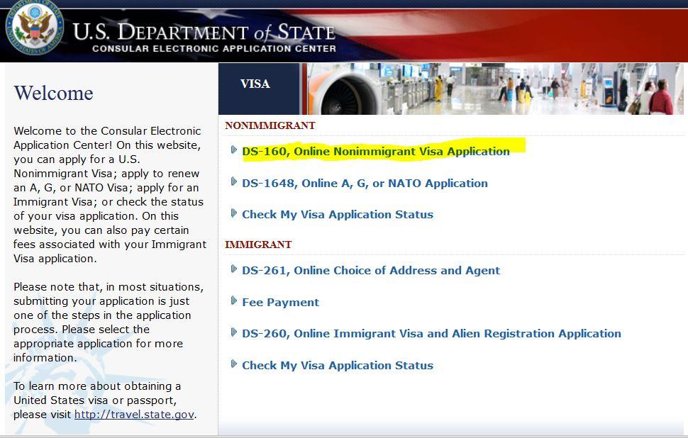 Fiance Visa Online Form