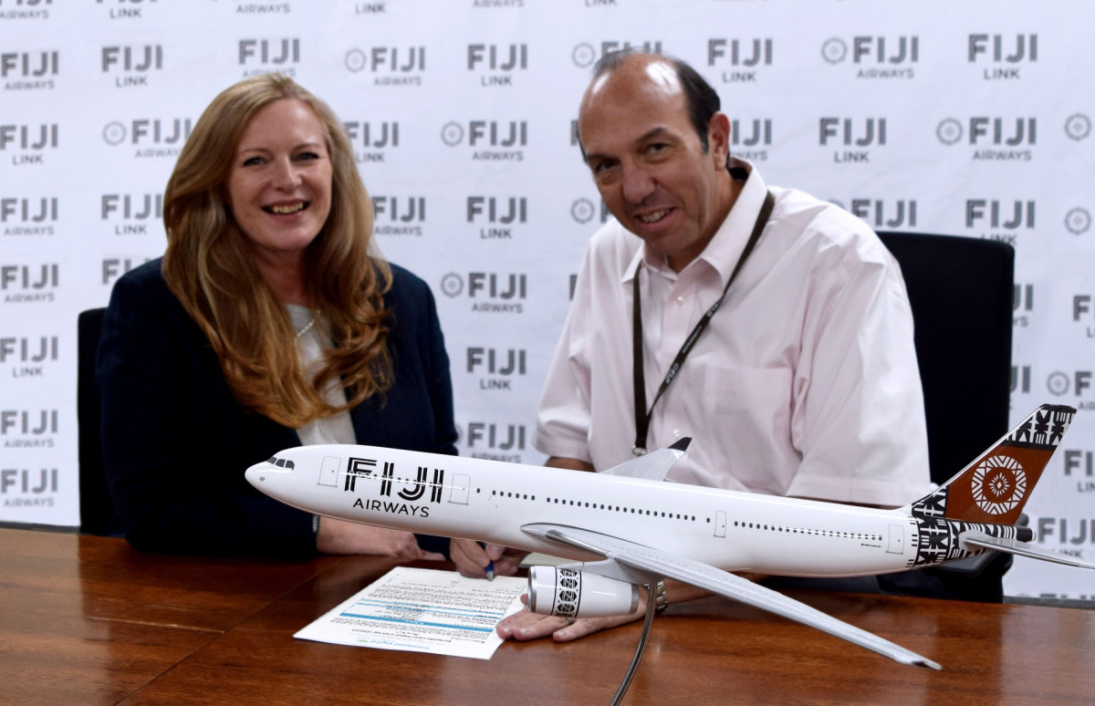 Fiji Airways Flight Attendant Application Form 2017