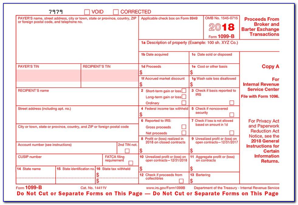 Filing 1099 Form