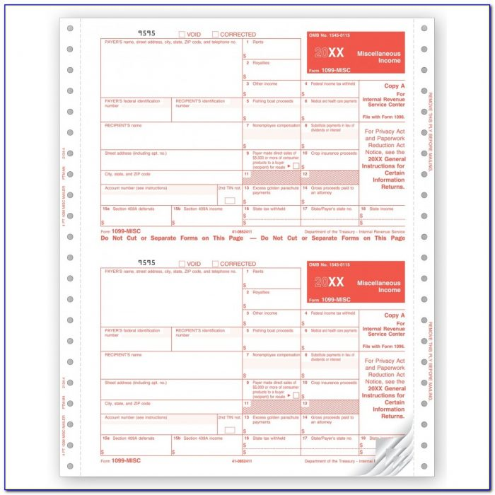 Filing 1099 Misc Forms Online