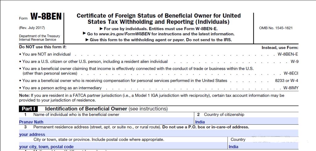 Filing Form 1099 G