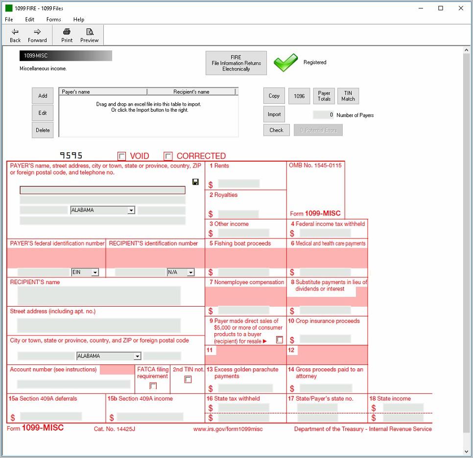 Filing Form 1099 Q