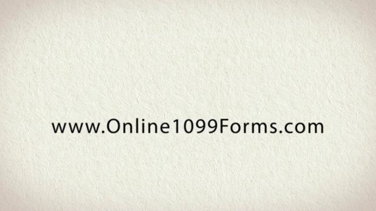 Fill In 1099 Forms Online