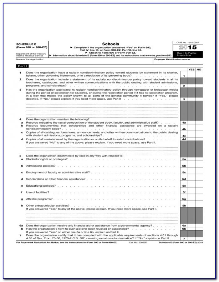 Fillable Form 1040 Schedule A