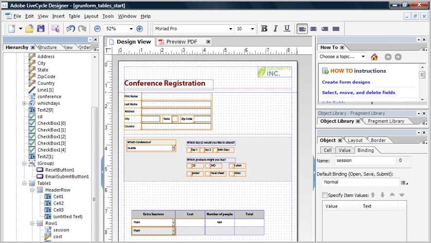 Fillable Form Pdf From Excel