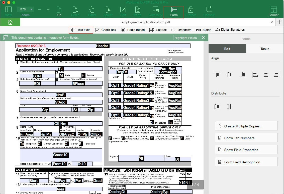 Fillable Form Software Freeware