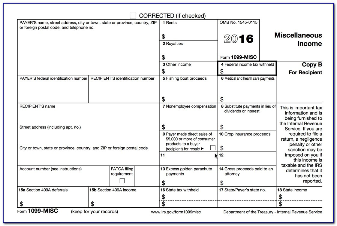 Fillable Pdf 2016 Tax Forms
