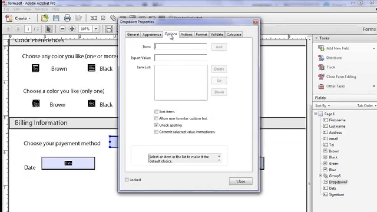 Fillable Pdf Forms Illustrator