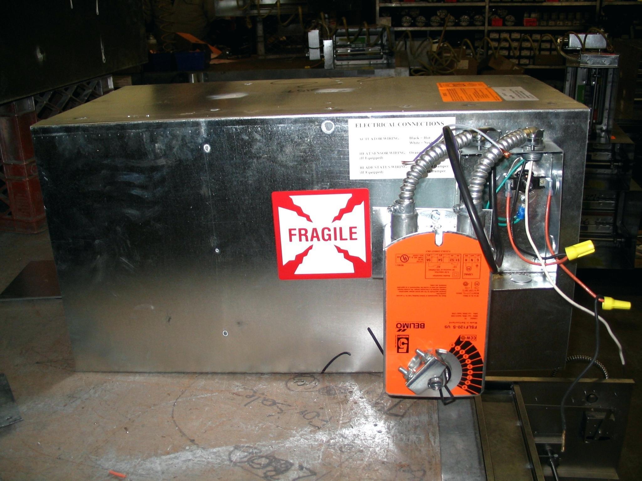 Fire Damper Inspection Template
