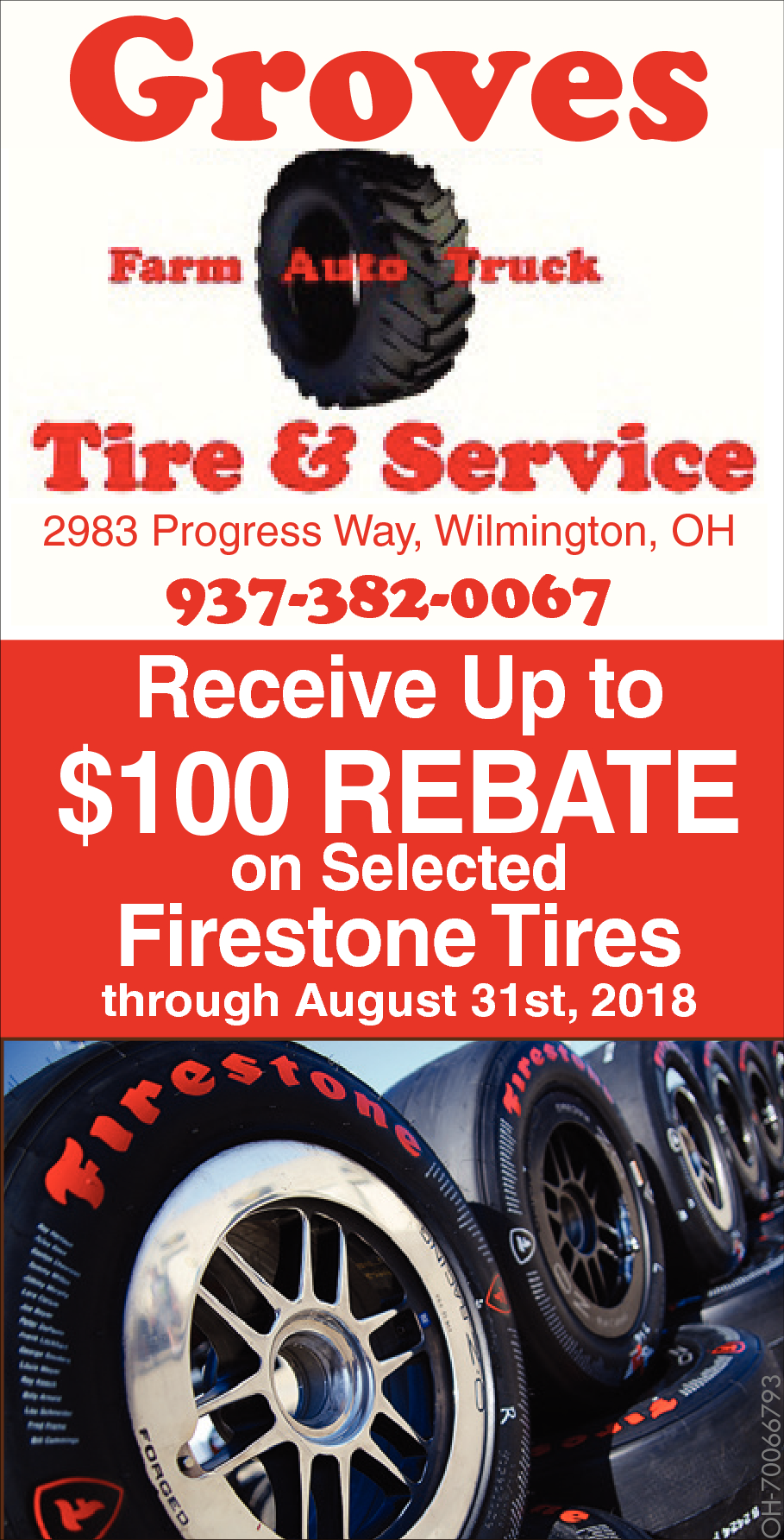 Firestone Rebate Form 2017