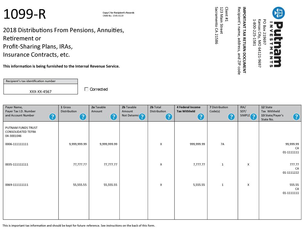 Florida Prepaid Form 1099 Q
