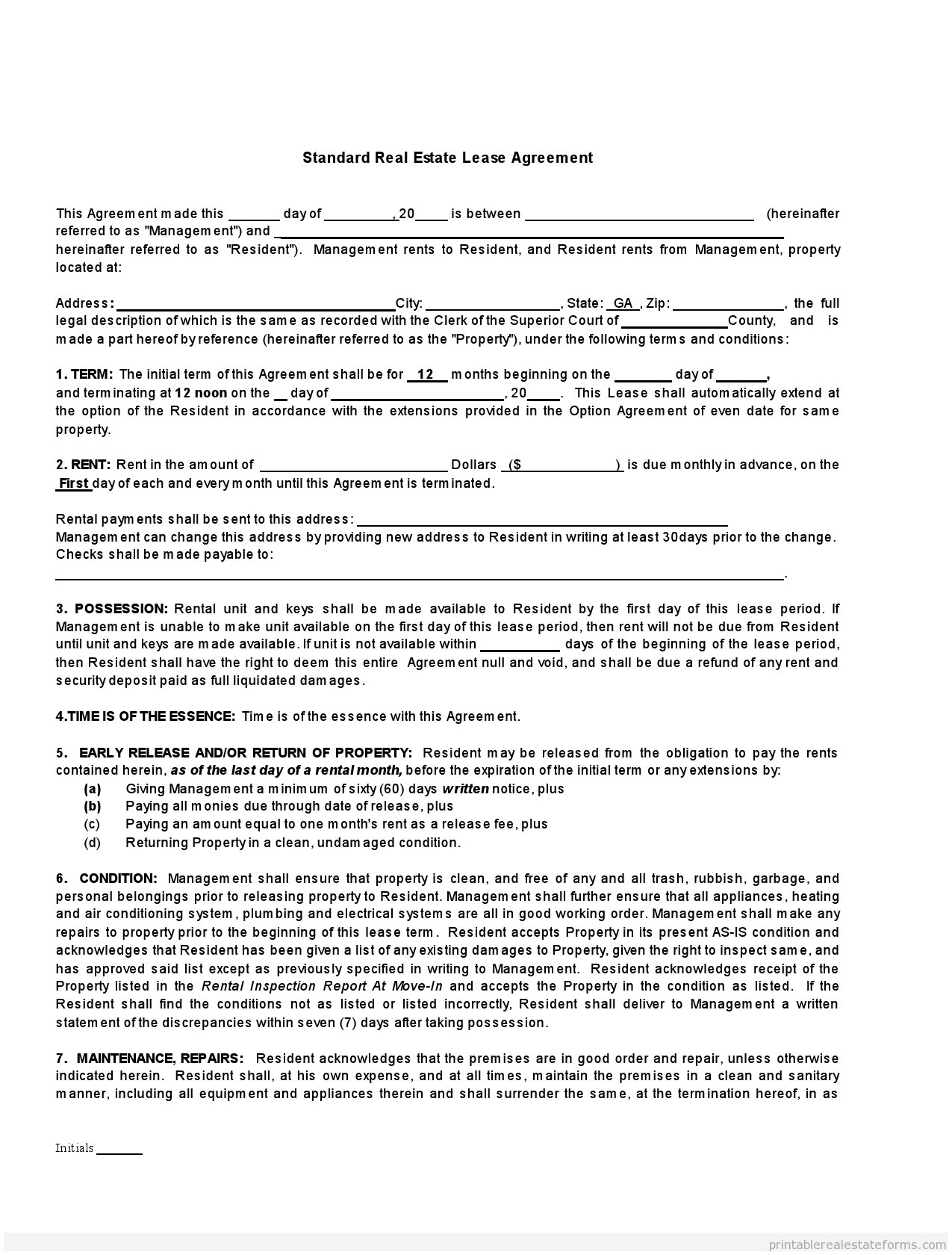 Mississippi Residential Lease Agreement Florida Real Estate Contract Form Unique Residential Lease Agreement