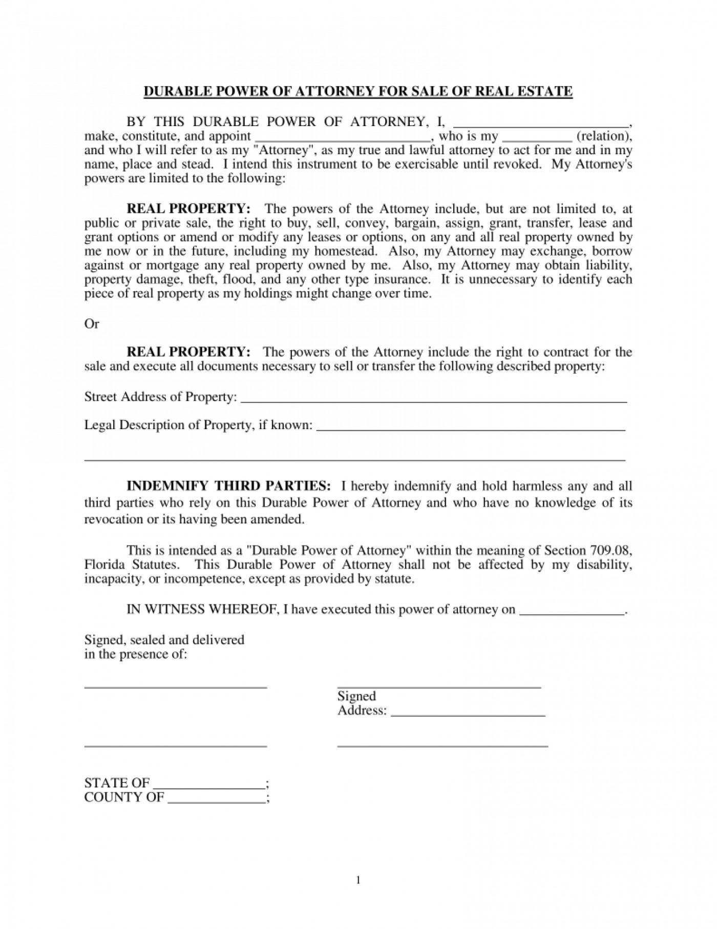 Florida Real Estate Contract Form Pdf