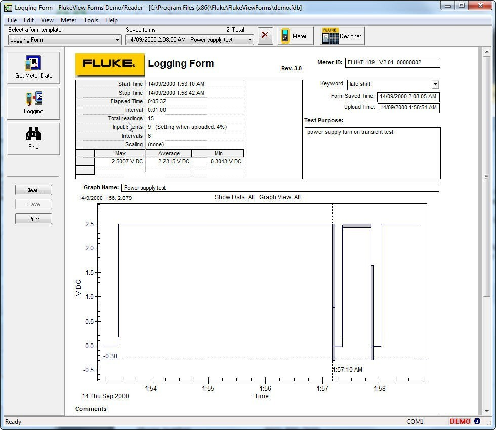 Flukeview Forms Basic Software Download