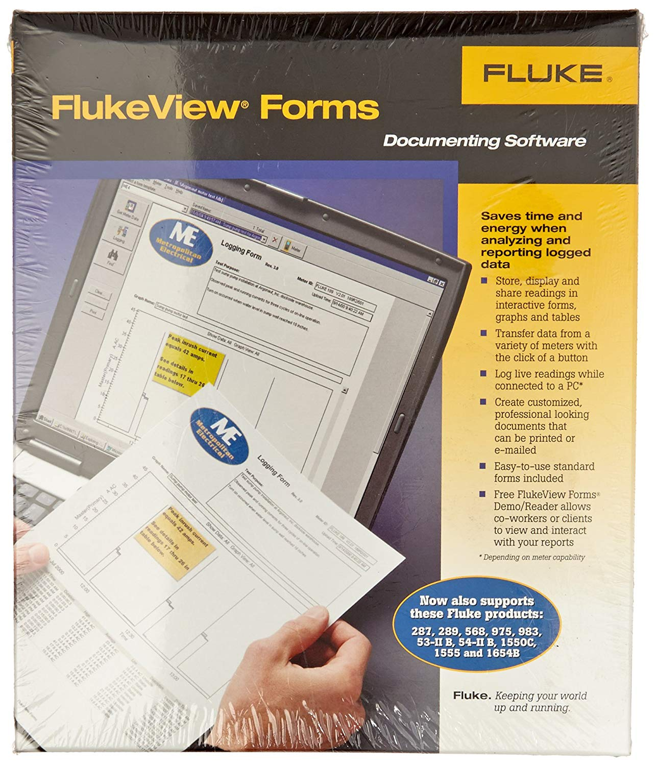 Flukeview Forms Temperature Pc Software