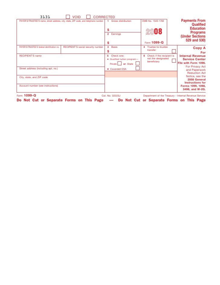 Form 1099 Programs