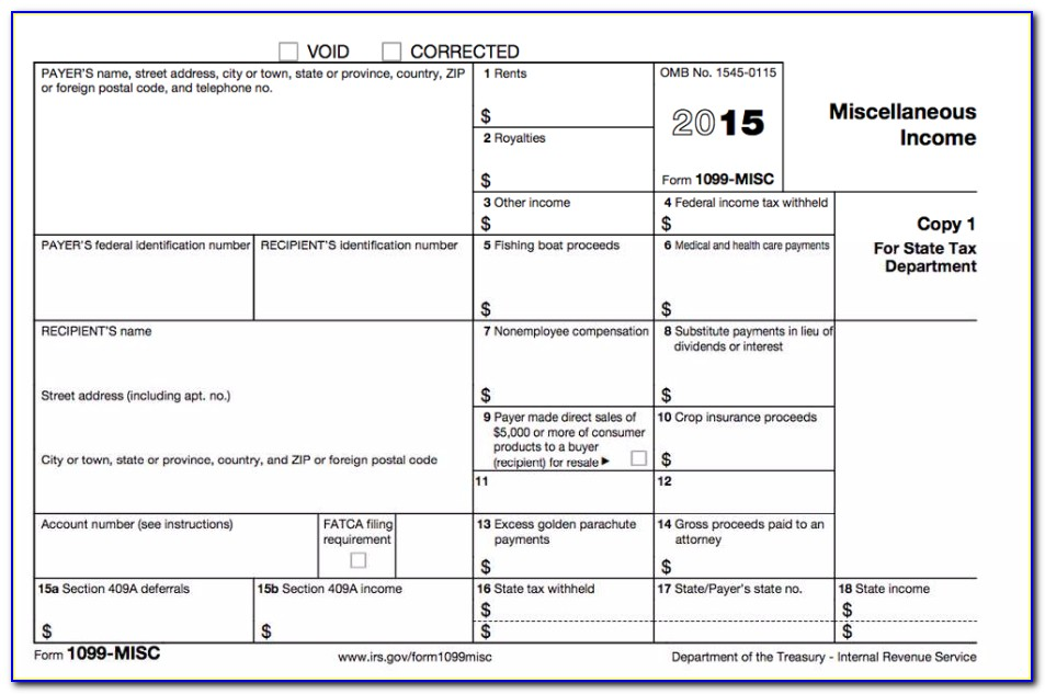 Form 1099 S Reporting Requirements