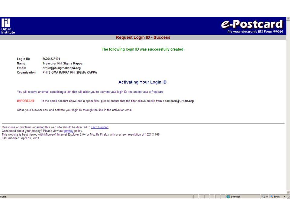 Form 990 N E Filing
