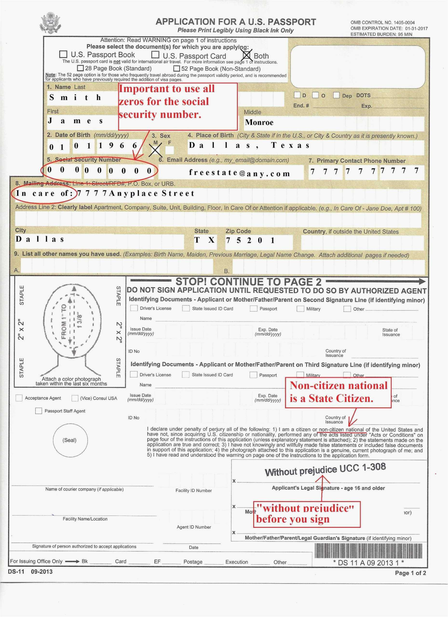 Us Passport Form Ds 11 Gallery Ds82 Form Example Ds 82 Application Form For Passport Renewal ? Ds Model