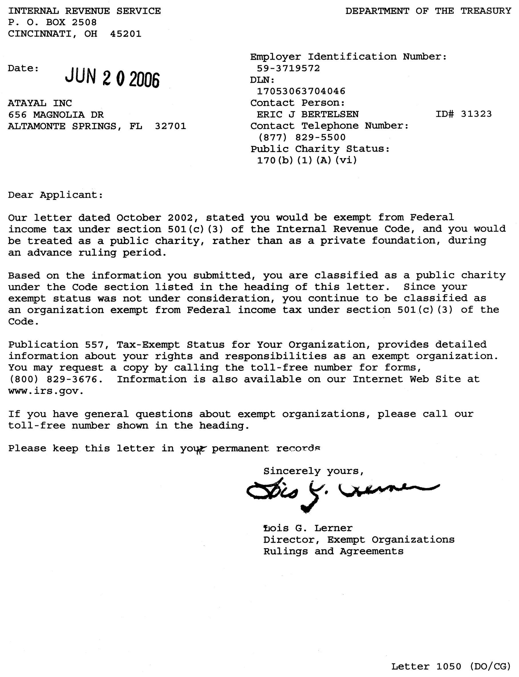 Form Letter For Non Profit Donations