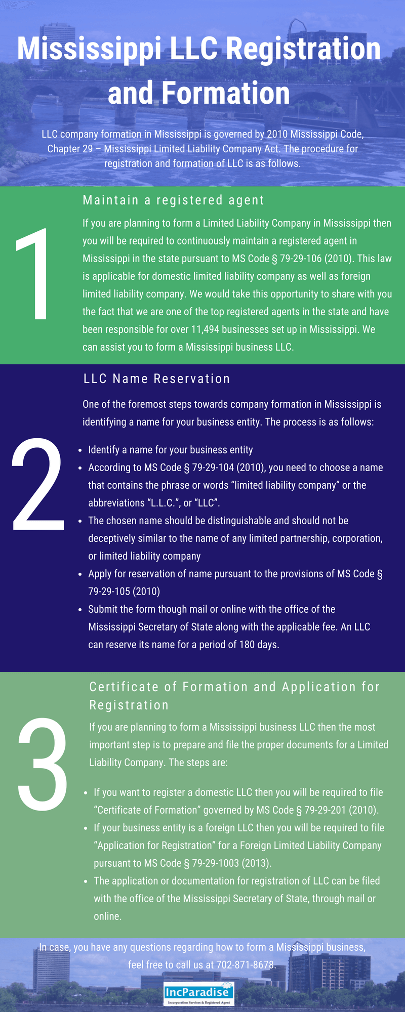 Formation Of Llc In Mississippi