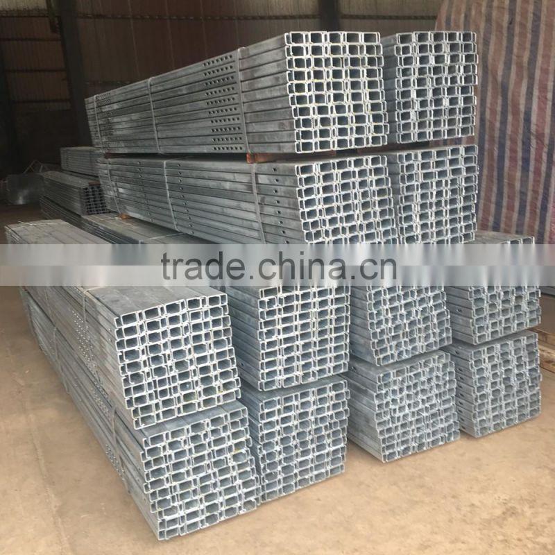 Formed Steel U Channel