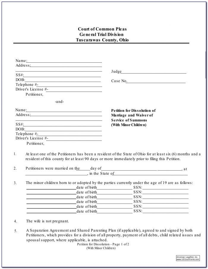 Franklin County Eviction Complaint Form