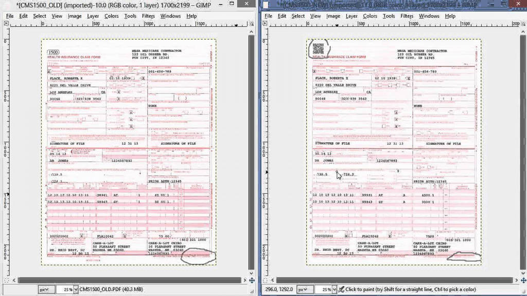 Free Printable Cms 1500 Form 02 12 Unique Cms Claim Form Cms1500 Forms Archaicawful 1500 Templates Fillable 02