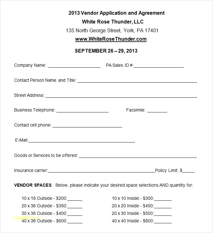 Free Editable Rental Application Form