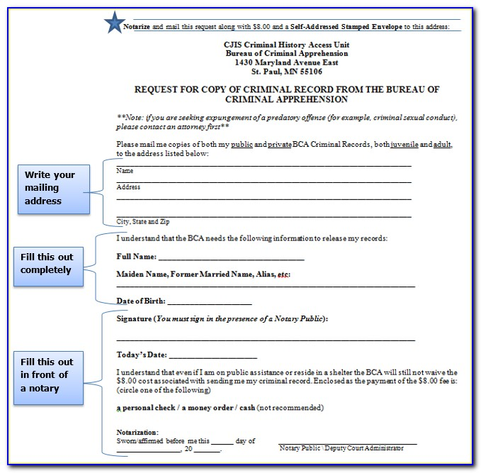 Free Expungement Forms Ohio
