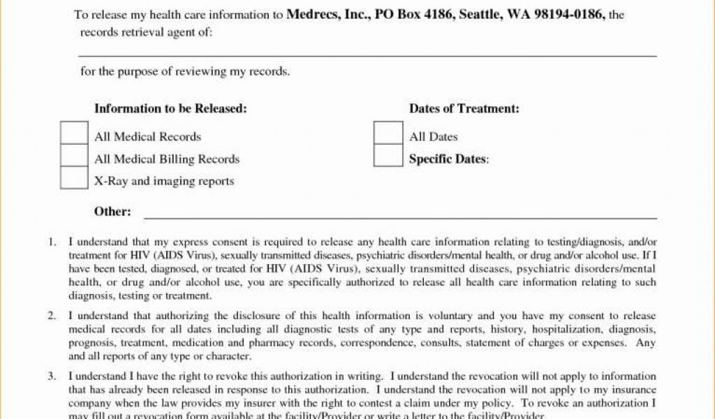 Hipaa Consent Form Sample Elegant 54 Elegant Free Confidentiality Agreement Canada