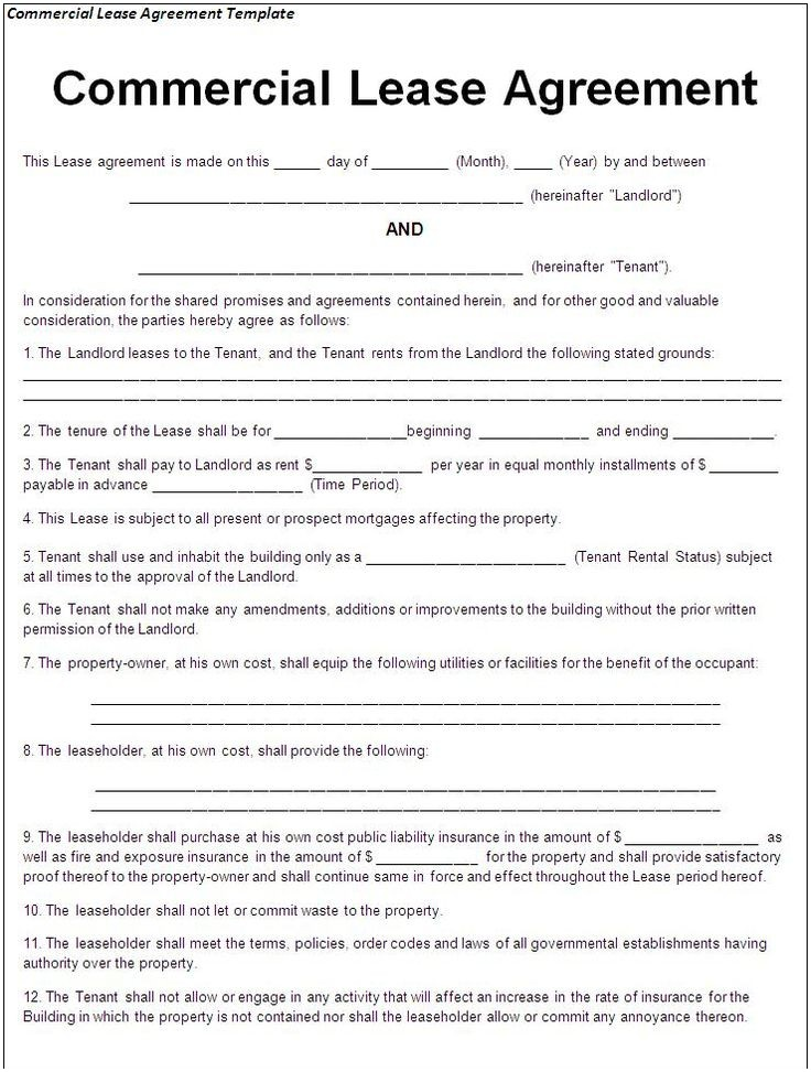 Printable Sample Lease Agreement Template Form Real Estate Forms Pinterest Real Estate Free Land Lease Agreement Forms To Print