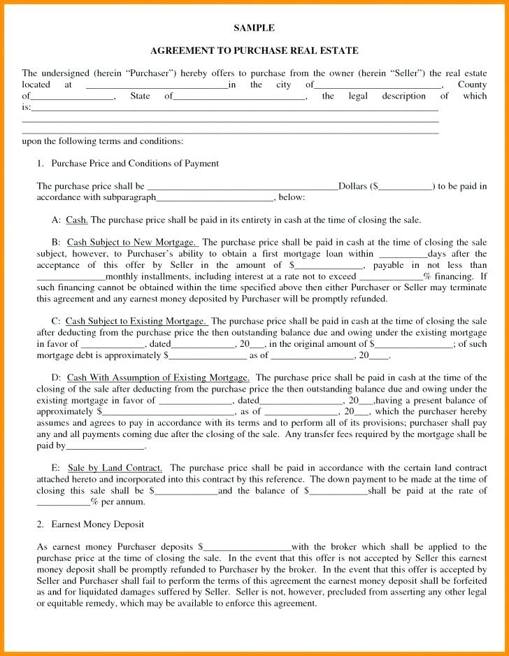 Free Land Contract Forms West Virginia