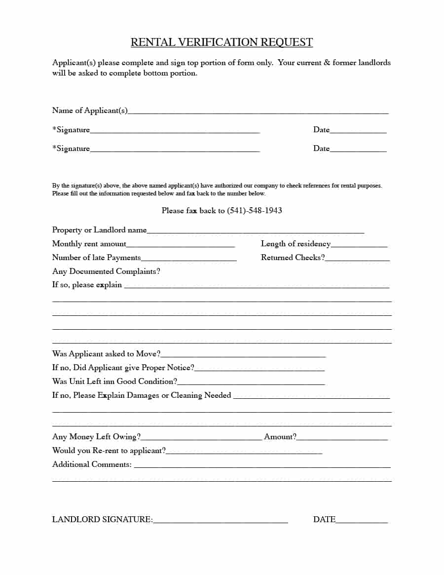 Free Landlord Waiver Form