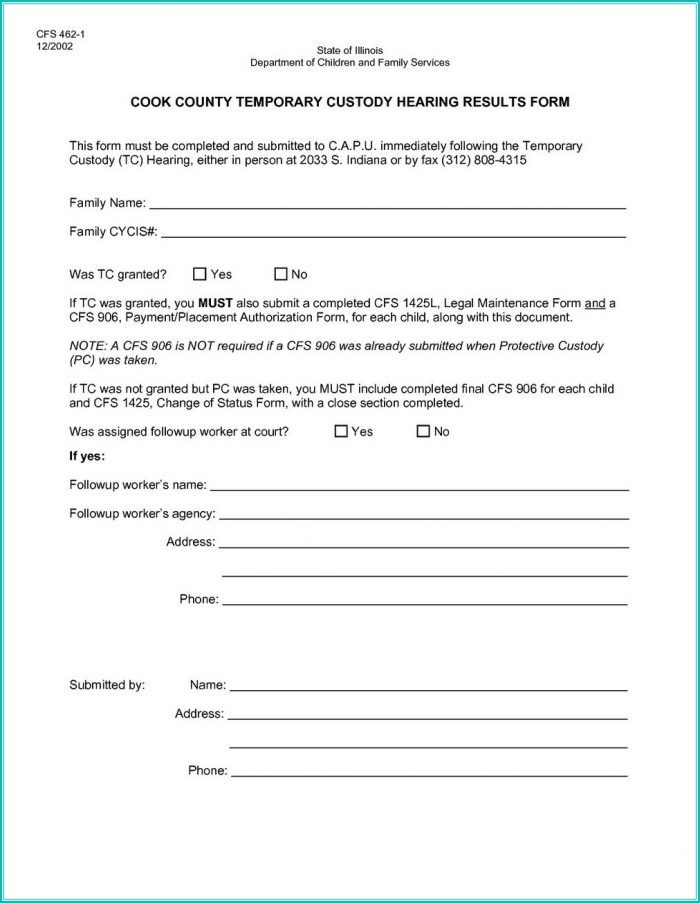Free Legal Guardianship Forms Pa