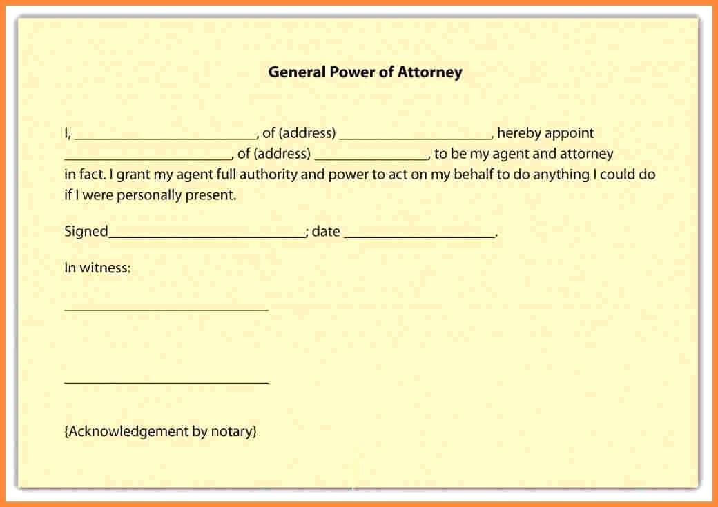 Free Medical Durable Power Of Attorney Form California
