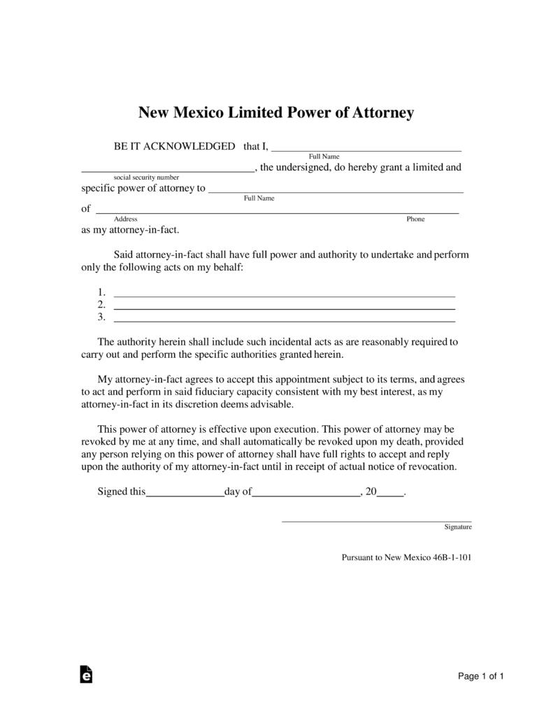 Free Medical Power Of Attorney Form Nebraska