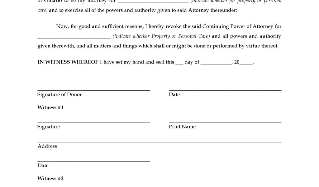 Free Missouri General Durable Power Of Attorney Form