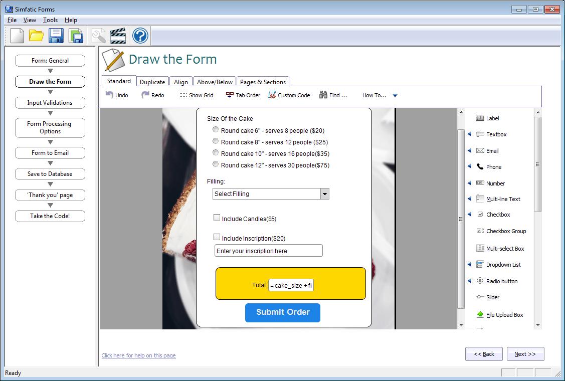 Free Offline Php Form Builder