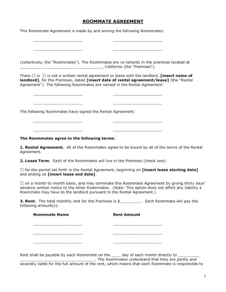 Free Online Residential Lease Agreement Forms