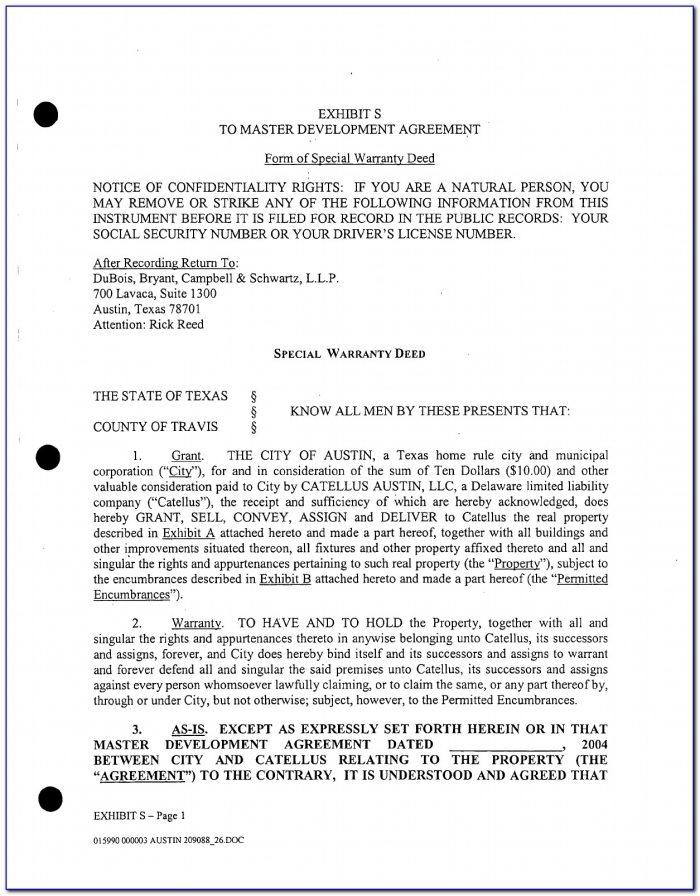 Free Online Warranty Deed Forms