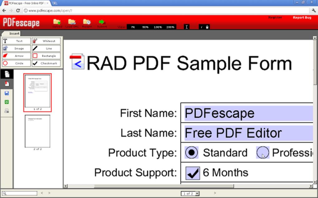Free Pdf Editor & Form Filler Download