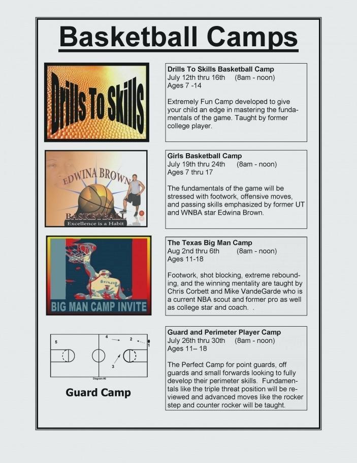 Free Printable Basketball Registration Forms