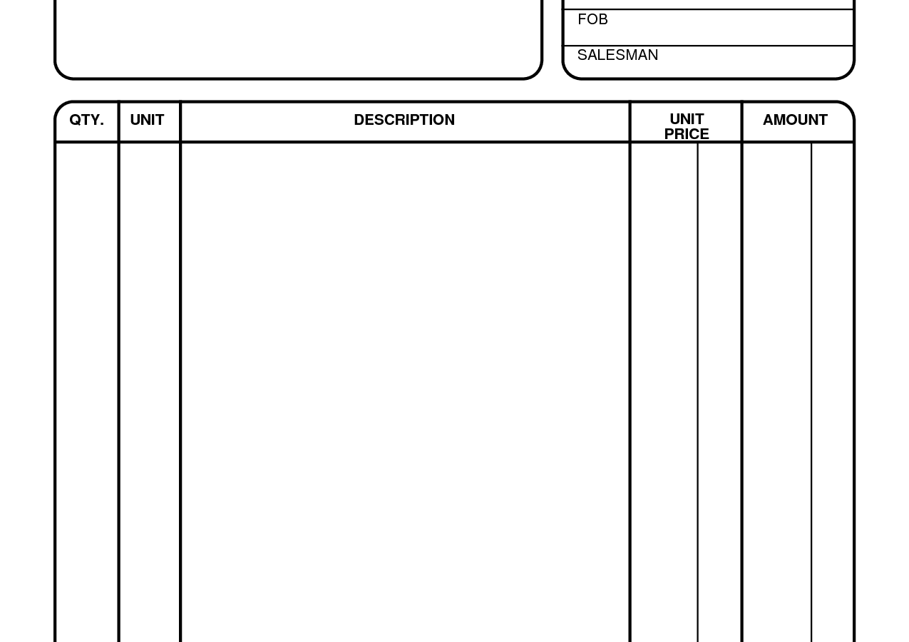 Free Printable Receipt Forms Templates