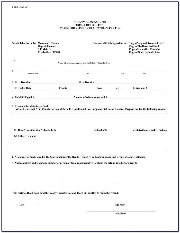 Free Quit Claim Deed Form Oklahoma