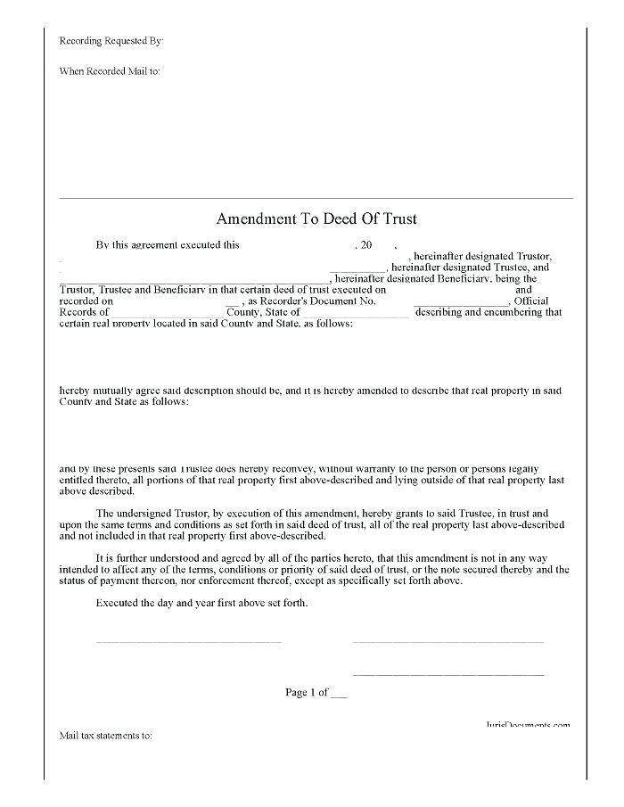 Free Warranty Deed Forms Texas