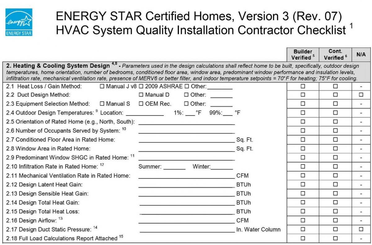 Furnace Inspection Forms