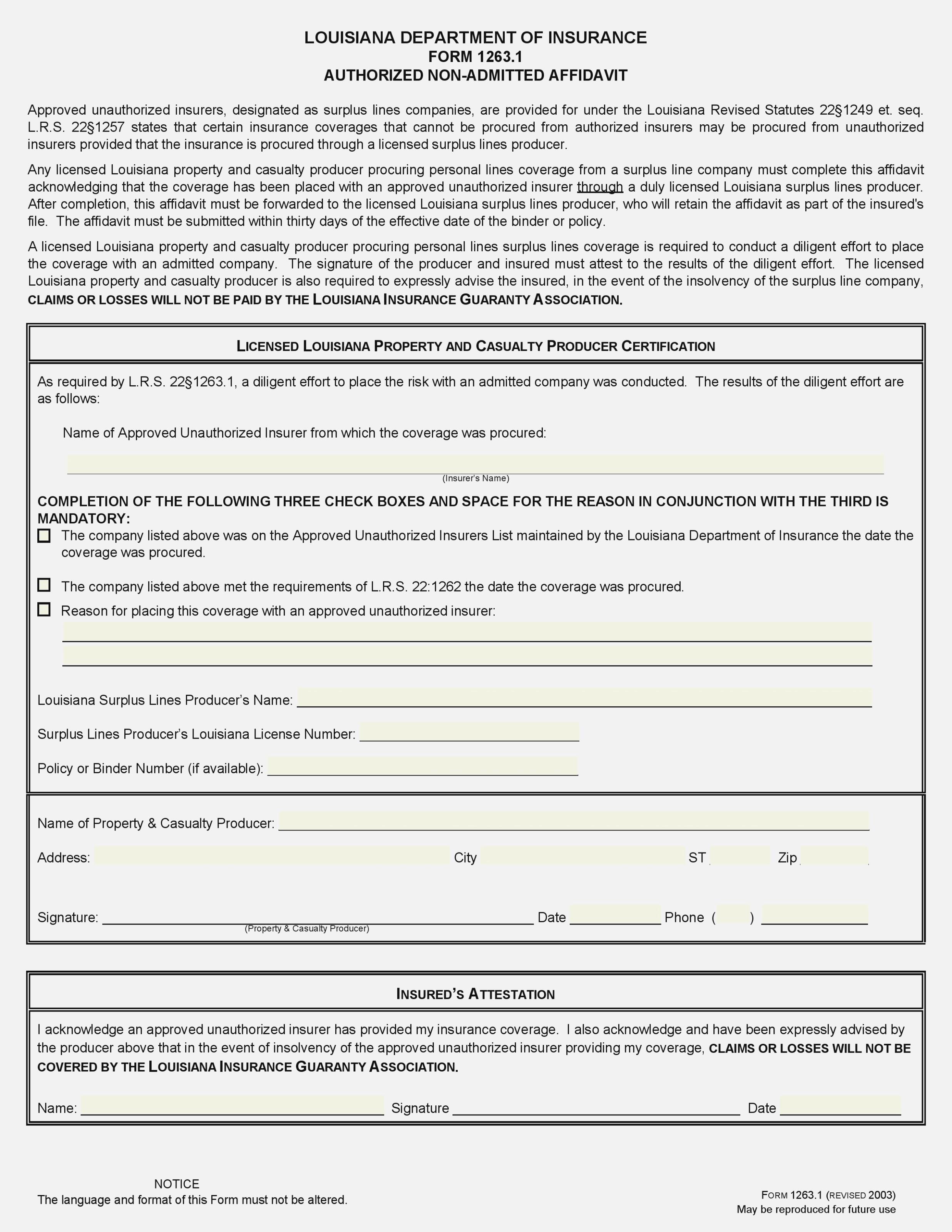 Georgia Probate Creditor Claim Form