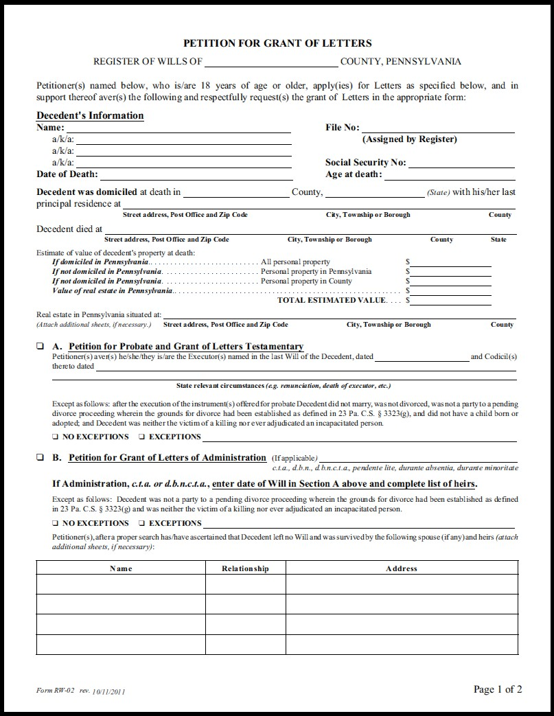 Georgia Wills And Trusts Forms