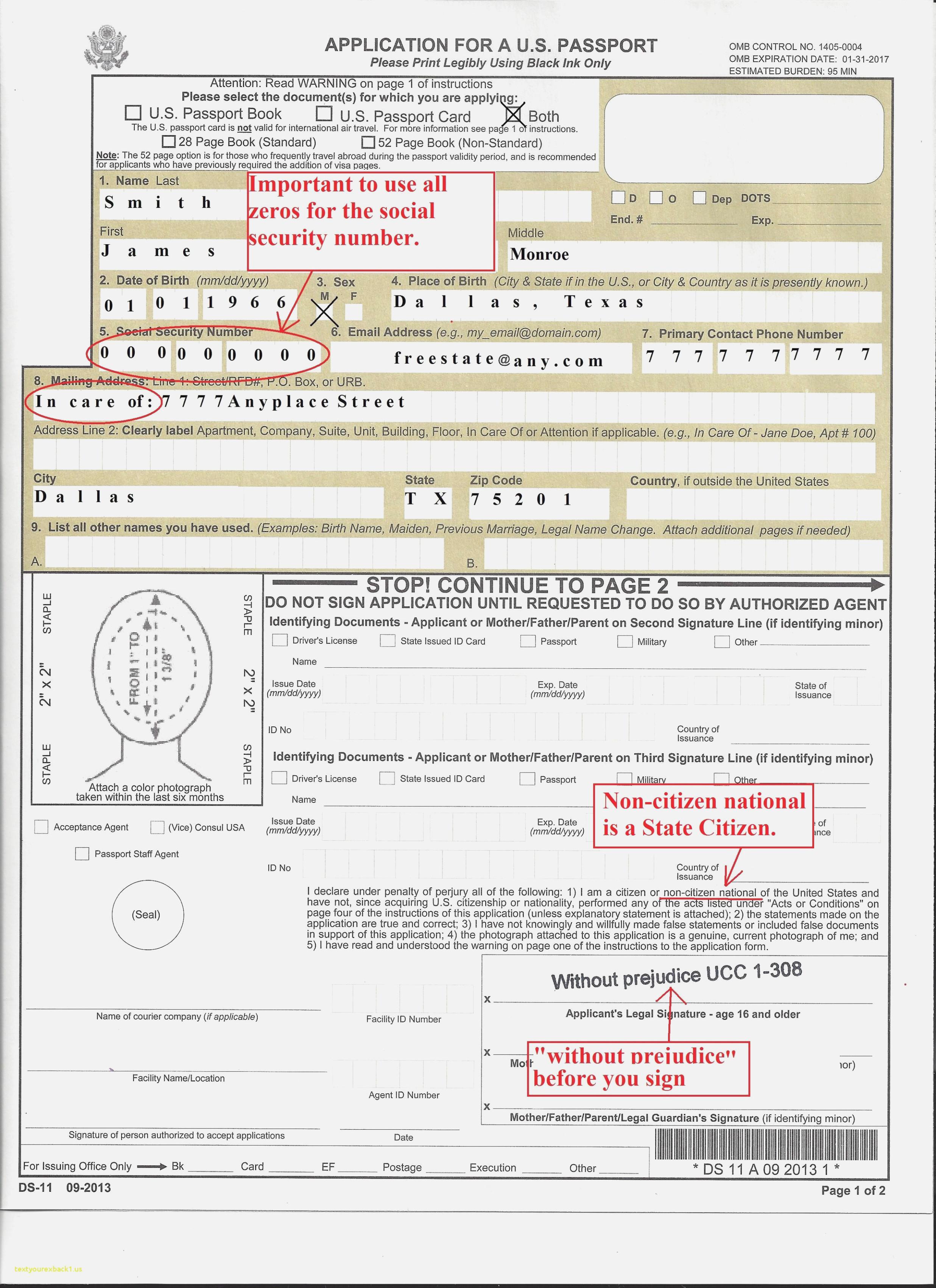 Ghana Passport Renewal Forms Canada